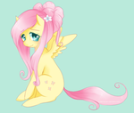 Fancy Fluttershy by Cyahna