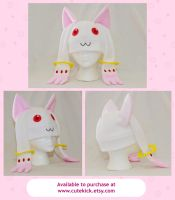 Kyubey Hat by cutekick