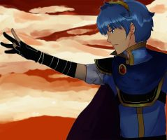 Marth by musicandsketches