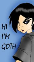 Teen Titans - Goth by Pepsi-McFLY