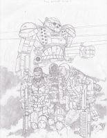 Battletech: The Damned by Steel-Raven
