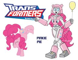 Transformares Pinkie Pie by Inspectornills