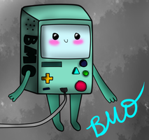 Bmo - Adventure Time by JustAAwesomeGirl