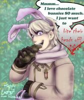 Happy Easter from Russia by ReimeiJCabbit