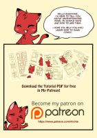 SIMPLE COMIC PANEL TUTORIAL by Archie-The-RedCat