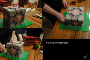 The companion cube by RosalindRed
