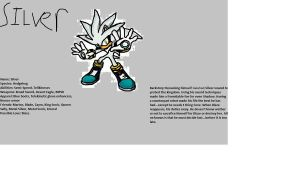 Silver the Hedgehog: Knight of Acorn Profile by BladetheEchidna1