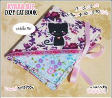 Cozy Cat Book - Vanilla Roses by shiricki