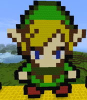 Minecraft-Newer Link by Petpettails123