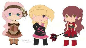 Chibi points commission para xBlackCherry02 by irenereru