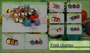 Fruit Charms by Jennol
