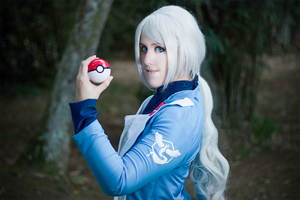 Blanche - Pokemon GO - TEAM MYSTIC by PriSuicun