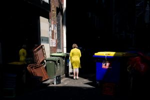 Recycle Bins by Jinnger