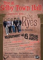 The Ryes at Selby Town Hall by boomerangmouth
