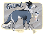 Falon - Character reference by AnneDyari