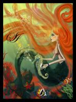 Mermaid -Sirena by ermafrodita