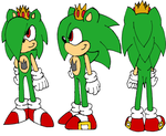 Arthur the Hedgehog Reference Sheet by Sonicdude645