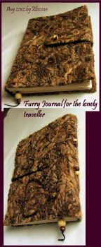 Furry Journal for the lone Traveller by Elescave