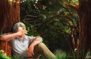 Mushishi: Ginko by Innocent-raiN