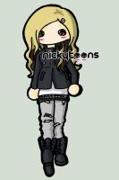 Avril Lavigne Canon Commercial by NickyToons
