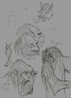 Primate Cryptids. by TheMorlock