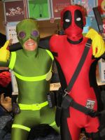 Dead Pool and Bob Agent by Verlerious