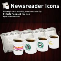 Newsreader Icons vol. 2 by BrunoTorres