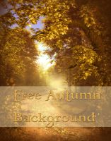 Autumn Background Free by moonchild-ljilja