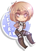 Petra Button by Aj-x