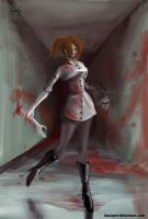 Cannibal nurse 2 by FASSLAYER