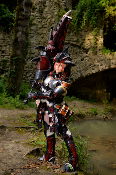Rhatalos Armor from Monster Hunter Freedom by Sandman-AC