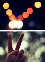 Peace and Bokeh by uploathe