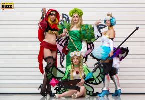 Odin Sphere Group by JustPeachyCosplay