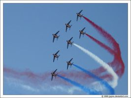 Patrouille France in PAS 2005 by jpgmn