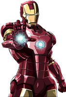iron man vector by savagefreakk