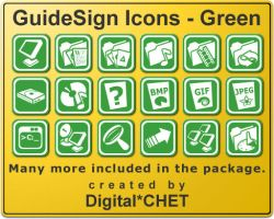 GuideSign Simple - Green by digitalchet
