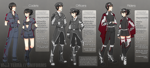 Vios Terra ::: Uniforms by Tenyune