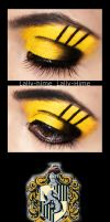 Hufflepuff Make Up by Lally-Hime