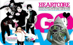 Alternative Press Heartcore Ad by jimmyheartcore