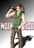 Daryl Dixon - The Walking Dead by R-ico