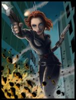 Black Widow by SemajZ