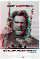 Movie Poster Anaglyph by Geosammy