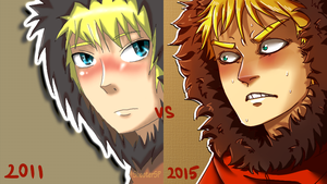 Before after Kenny by ShooterSP