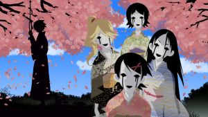 Zetsubou Sensei Wallpaper by EchoingDroplet