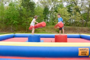Medway Founder's Day Fun, Bouncy Jousting by Miss-Tbones