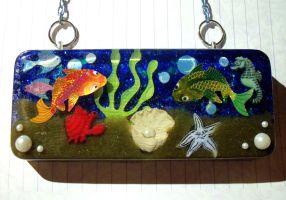 Under Water Resin Wall Decoration by TashaAkaTachi