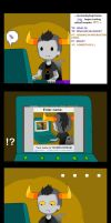 Tavros: reading interactive comic by DeluCat