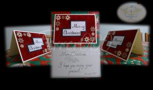 Red Suede - Christmas Card Design by FerrerTriple0