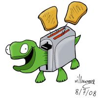 Toaster Tortoise by The-Hellish-Gnome