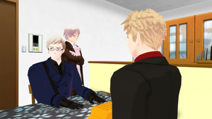 [MMD] The Nordics - Waffles [Video] by PikaBlaze